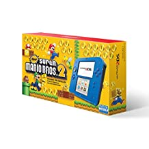 Nintendo 2DS Console, Electric Blue with Game Super Mario Bros. 2 - Standard Edition