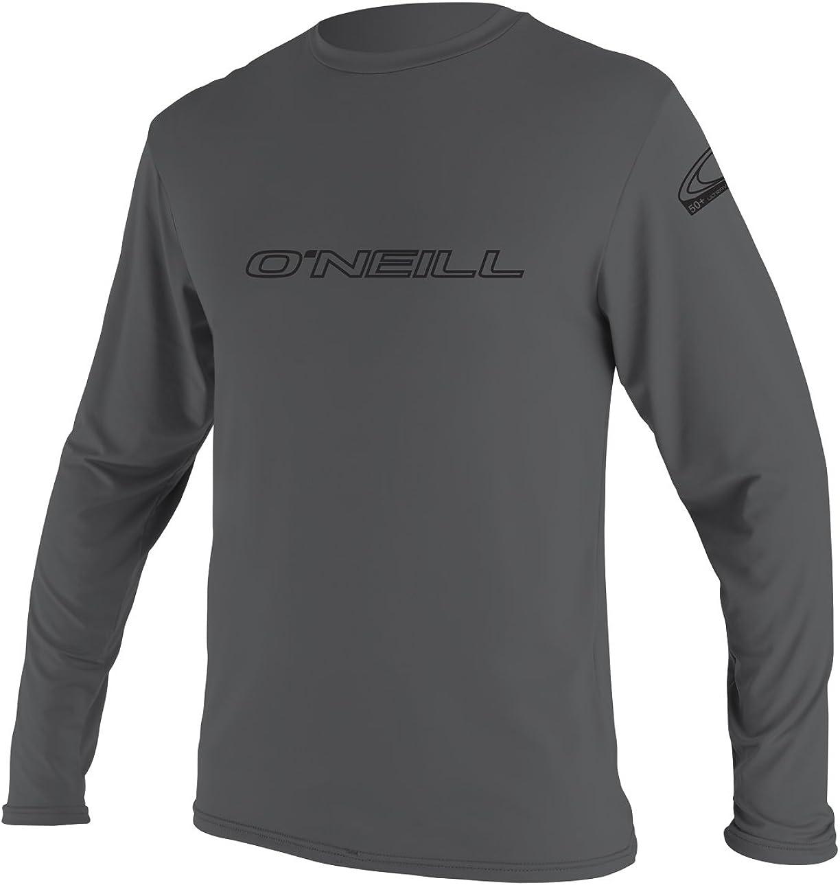 Long Sleeve Sun Shirt ONeill Mens Basic Skins UPF 50 Smoke S