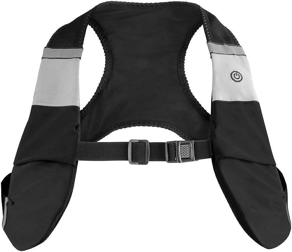 One Size Proviz Mens Classic Led X-Vest Black