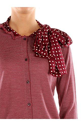 P25c01amarantotalco Rojo Mujer Cárdigans Prada Lana xOgRzP