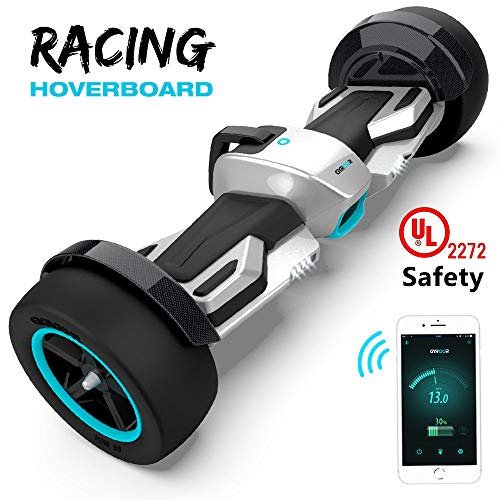 Magic hover Hoverboard G-F1 Racing Electric Scooter 8.5 for Kids and Adult with App and LED Lights Two-Wheel Bluetooth UL2272 Certified Self Balancing Scooter