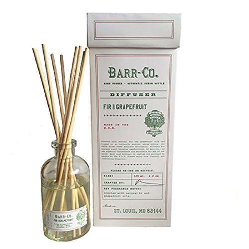 Barr-Co. Fir & Grapefruit Scent Diffuser Kit by Barr Co