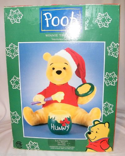 Winnie the Pooh Animated and Illuminated Christmas Display Figure (Winnie The Pooh Animated Christmas Display Figure)