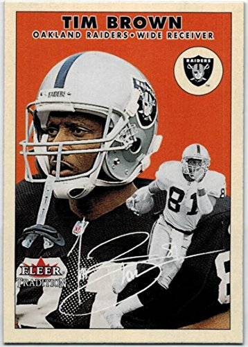 2000 Fleer Tradition Oakland Raiders Team Set with TIm Brown & Rich Gannon - 12 NFL Cards