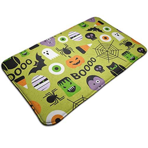 TERPASTRY Anti-Slip Mildew Resistant Anti Bacterial Bathroom Mat