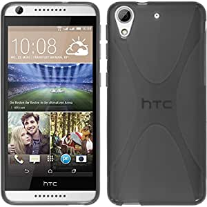 Silicone Case for HTC Desire 626 - X-Style gray - Cover PhoneNatic Case