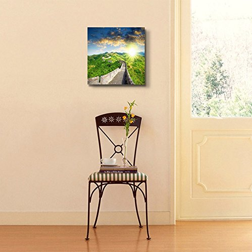 Famous Landmark Great Wall of China at Sunset Time Home Deoration Wall Decor