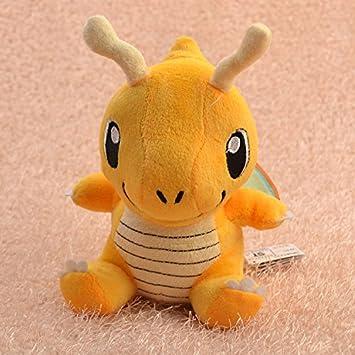 Pokemon Plush Toy Dragonite 16cm Cute Collectible Soft Stuffed Animal Doll Pokemon Plush Toys For Kids