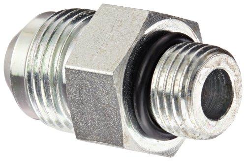 Eaton Weatherhead C5315X8X6 Carbon Steel SAE 37 Degree (JIC) Flare-Twin Fitting, Adapter, 3/8