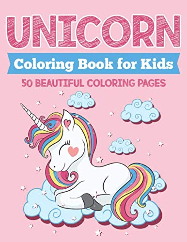 Unicorn Coloring Book for Kids: 50 Beautiful Coloring Pages 3