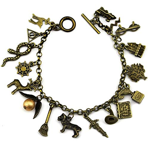 The Antique Gold Magic Charm Bracelet Kyrarist-AC242