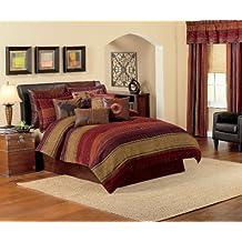 Croscill Plateau Comforter Set, WC King, Multi