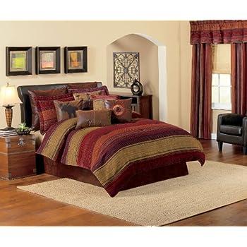 croscill plateau comforter set king multi