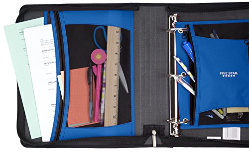 Five Star 2 Inch Zipper Binder, Ring Binder, Xpanz, Assorted Colors (29040) by Five Star (Image #6)