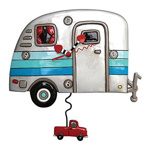 Happy Campers Pendulum Clock made our list of gift ideas rv owners will be crazy about that make perfect rv gift ideas which are unique gifts for camper owners