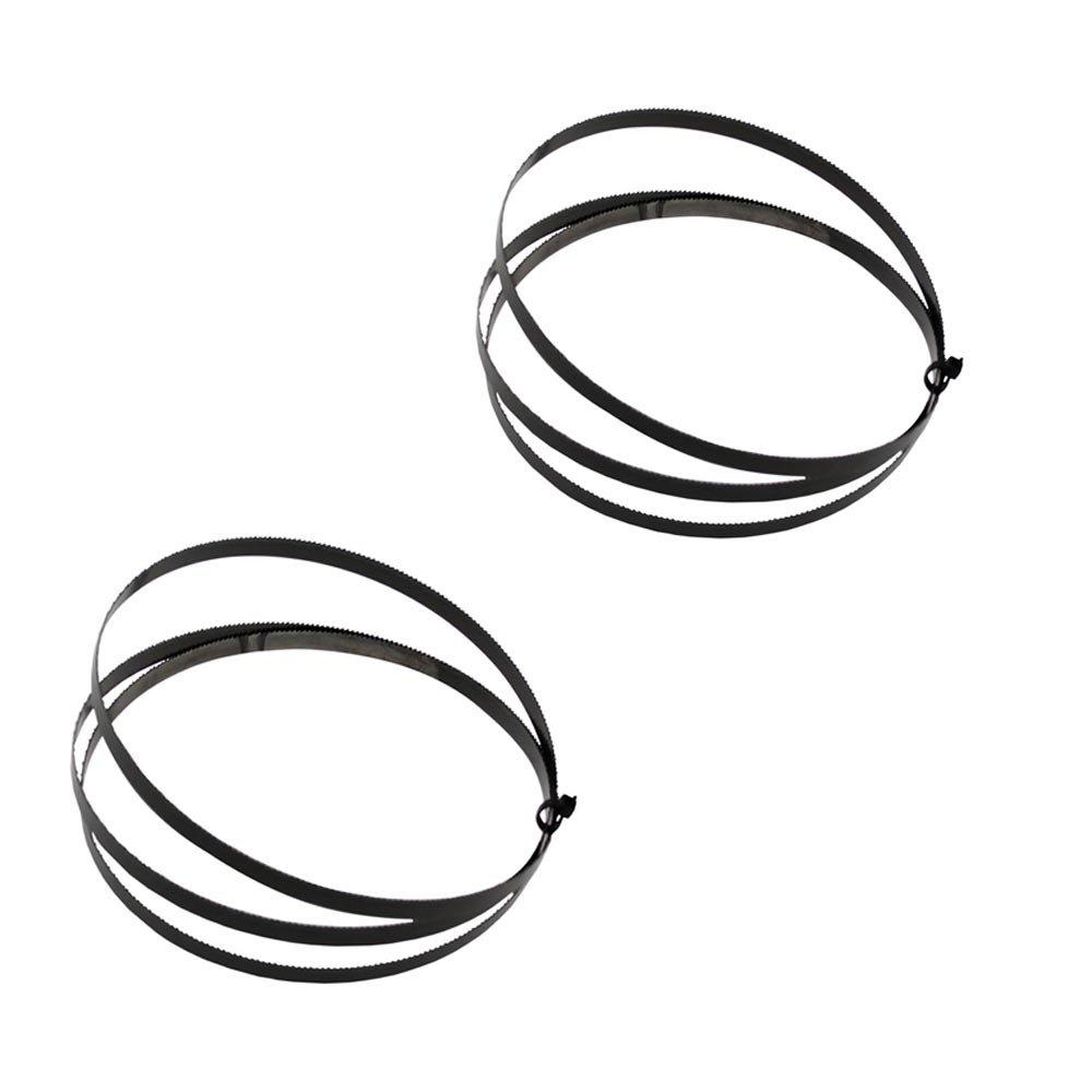 2x Bandsägeblatt zur Scheppach Bandsäge HBS300 2240x6x0,65mm 6 ZpZ WD Tools