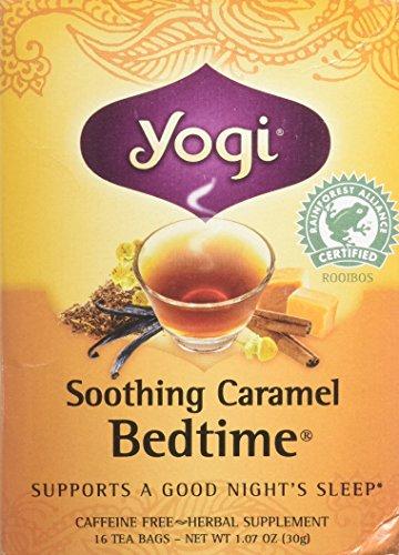 Yogi Tea Herbal Tea, Soothing Caramel Bedtime 1.07 oz