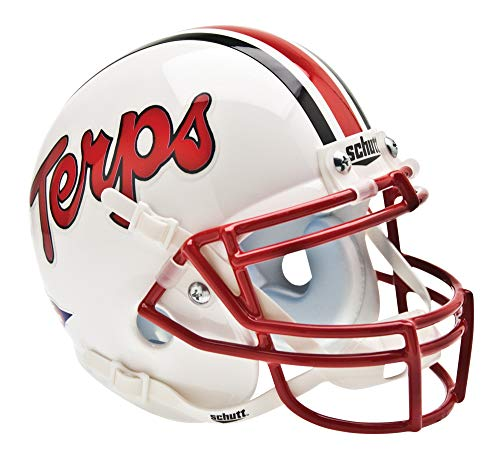 Schutt NCAA Mini Authentic XP Football Helmet, Maryland Terrapins