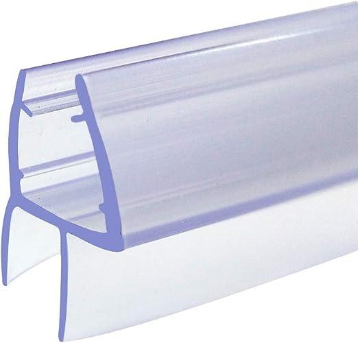 Junta de goma para mampara de ducha de 6-8 mm, junta inferior de ...