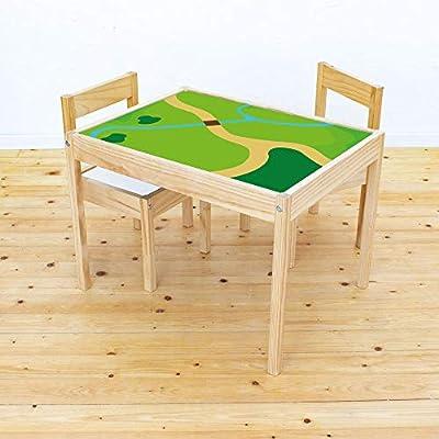 Muebles en adhesivo Juego Wiese – Apto para Ikea Lätt – Mesa ...