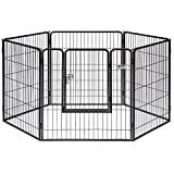 Precision Pet Courtyard Kennel Silver Crackle