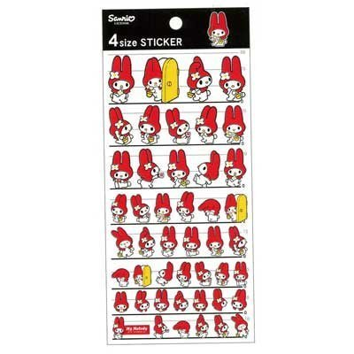Sanrio My Melody Design Art Paper Stickers: Toys & Games
