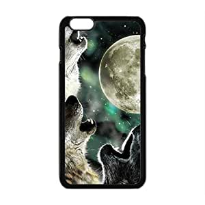 Howling under moon Sirius Cell Phone Case for Iphone 6 Plus
