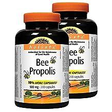 Holista Bee Propolis 500 mg 2 x 200 capsules