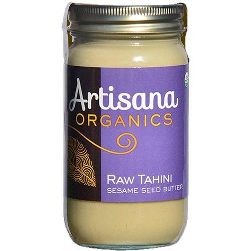 Artisana Organics - Tahini Sesame Seed Butter, USDA Organic Certified and Non-GMO Handmade Rich and Thick Spread (14 oz)