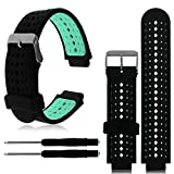 HighlifeS Watch Band, Soft Silicone Replacement Wrist Watch Band for Garmin Forerunner 230/235/630 (Mint Green)