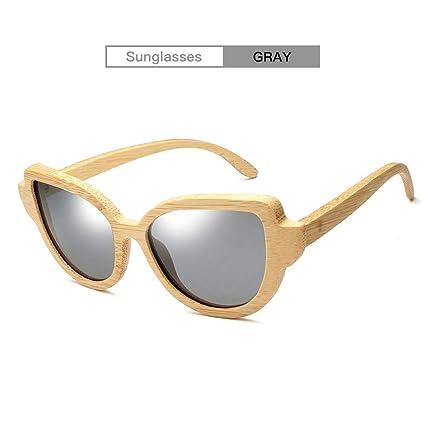 DingXW Gafas de Sol polarizadas de Madera Hechas a Mano de ...