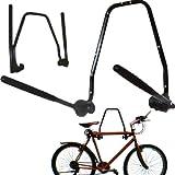 2 BIKE WALL MOUNTED BICYCLE HANGER CYCLE STORAGE MOUNT HOOK HOLDER STAND RACK