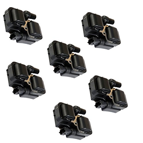 New SET OF 6 #0001587803 #0001587303 Ignition Coil FOR Mercedes C CL CLK ML Class C1444 C1361 UF-359