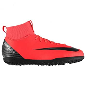 Botas de fútbol NIKE JR Superfly 6 Club CR7 Turf Junior (AJ3088 600): Amazon.es: Deportes y aire libre
