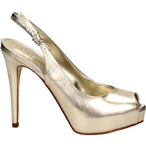 Platino Sling Back para Footwear Dress Zapatos Guess Mujer con Plataforma Pwfzqn