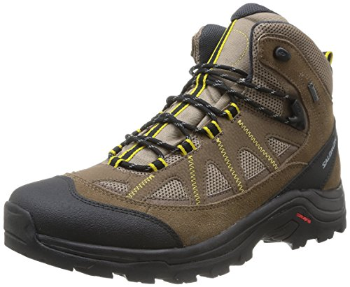 Salomon Authentic LTR GTX Herren Trekking- & Wanderstiefel Braun (Shrew/Burro/Ray)