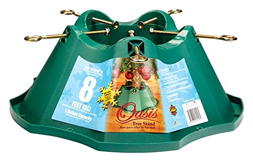 Handythings Christmas Tree Stand, for Trees Up to 8-Feet, 1.3-Gallon Water Capacity