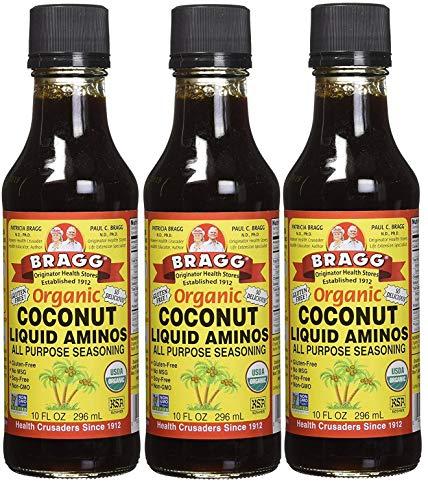Bragg Aminos Coconut 30 oz (3 x 10 oz)
