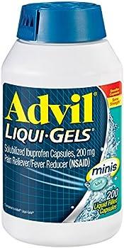 200-Count Advil Pain Reliever Fever Reducer Liqui-Gels