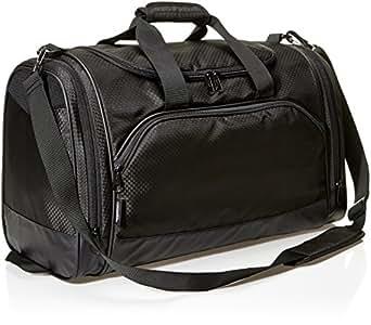 AmazonBasics Sports Duffel - Medium, Black