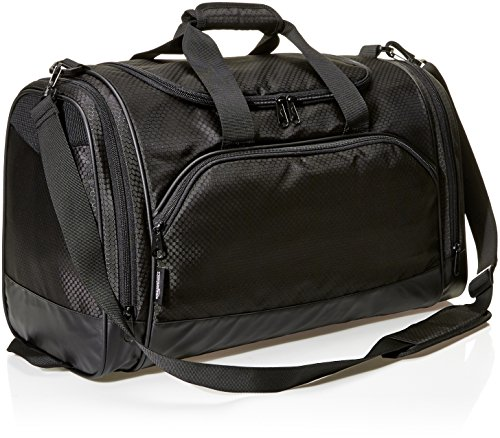 AmazonBasics Sports Duffel - Medium, Black