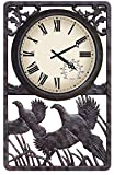 Common Pheasant Outdoor Clock