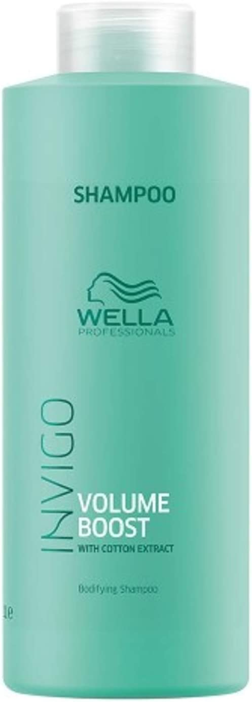 Wella Invigo Volume Boost Bodifying Shampoo 1L - Champues