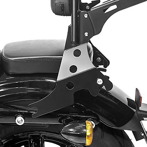 Sissy Bar d/étachable CSL pour Harley Sportster 883 Iron 09-19 noir
