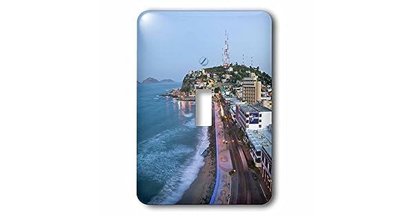 3dRose lsp/_86830/_1 Mexico Sinaloa Mazatlan Playa Olas Atlas SA13 WBI0171 Walter Bibikow Single Toggle Switch