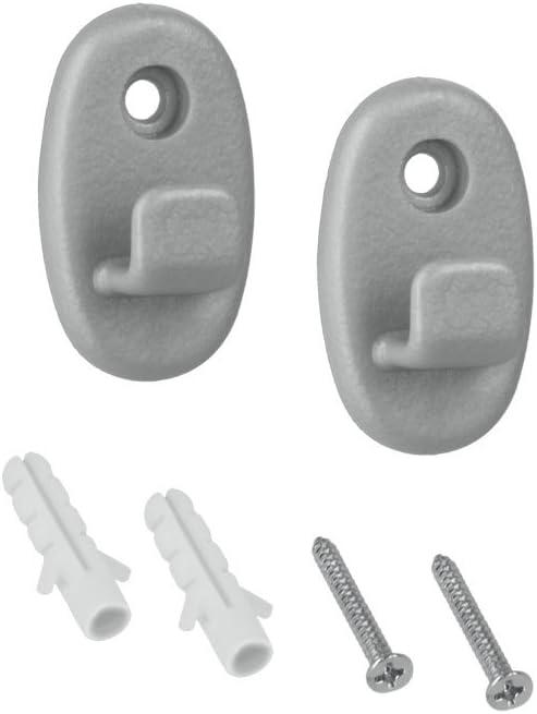 Gris Metalizado Metaltex Soportes para ordenaci/ón