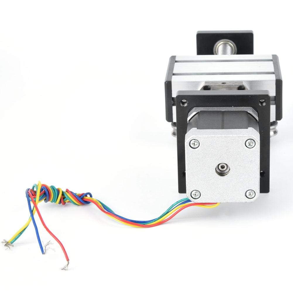 Single Shaft Ball Screw Slide Linear Guide Slide Screw Guide Stroke 200mm with 57 Motor 1204