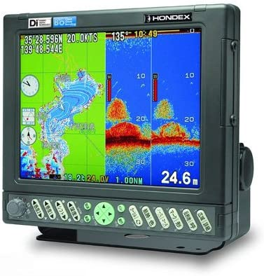 HONDEX(ホンデックス)10.4型カラー液晶 プロッタデジタル魚探 HE-7301-Di-Bo GPS 3kw 36/65kHz