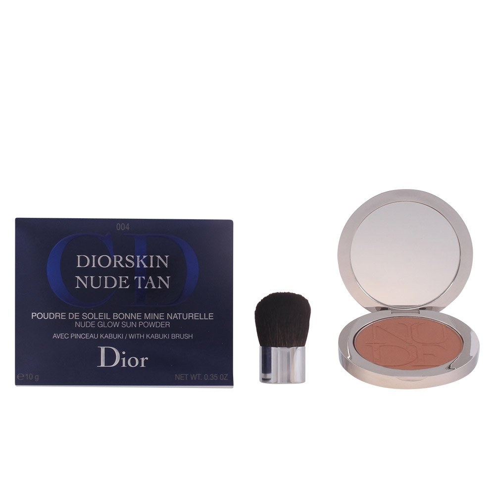 Christian Dior Nude Glow Sun Powder Kabuki Brush, # 004 Spicy, 0.35 Ounce