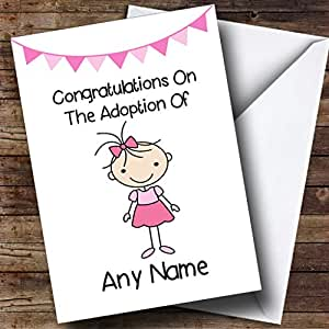 Amazon adoption congratulations adopting an older girl greeting cards m4hsunfo